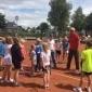 Afbeelding van MATCH trainers Roos & Harry verzorgen clinic voor HTC jeugd op ITF jeugdtoernooi