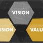 Icon representing Mission, Vision and Values