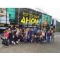 Afbeelding van Jeugd van TV Hiaten bezoekt Kids Day van het ABN AMRO WTT in Ahoy, Rotterdam !