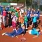 Afbeelding van Kinderen bij TC Unicum op de gezonde toer. Van patat tennis naar smoothie tennis