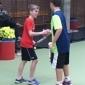 Afbeelding van Hillegomse tennis jeugd krijgt dubbelspel tactiek training afgelopen weekend