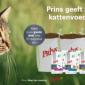 Afbeelding van Prins geeft 2.500 kilo kattenvoeding weg