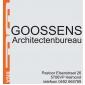Logo van Goossens Architectenbureau BNA