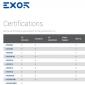 Afbeelding van Certificaten Exor