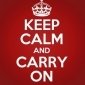 Afbeelding van Keep calm and carry on