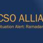 Icon representing CSOA Situation Alert: Ramadan 2019