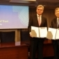 Icon representing MHI to become member of Charter of Trust for Cybersecurity