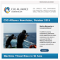 Icon representing CSO Alliance Newsletter: October 2014