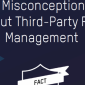 Icon representing 9 Misconceptions about third-party risk management