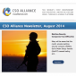 Icon representing CSO Alliance Newsletter: August 2014