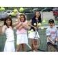 Afbeelding van Jeugdtraining Geel 4 tot 6 kinderen - winter 2019-2020 binnen in de tennishal