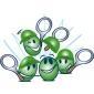 Afbeelding van Tenniskids Groen 4 tot 6 kinderen - winter 2019-2020 binnen in de tennishal
