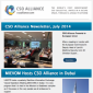 Icon representing CSO Alliance Newsletter: July 2014