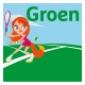 Afbeelding van Tenniskids Groen: 8/10 kinderen op 2 banen - winter 2020-2020