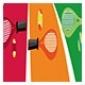 Afbeelding van Tenniskids Rood, Oranje & Groen 4 - 5 tal - zomer 2021